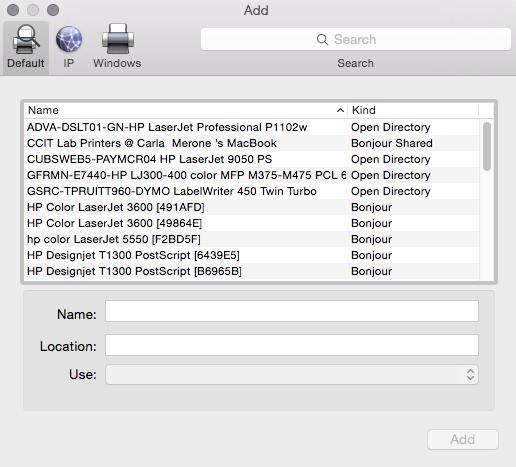 how to find printer ip address mac